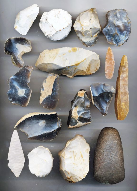 Neolithic Stone Tool Educational Pack. NP Collectables